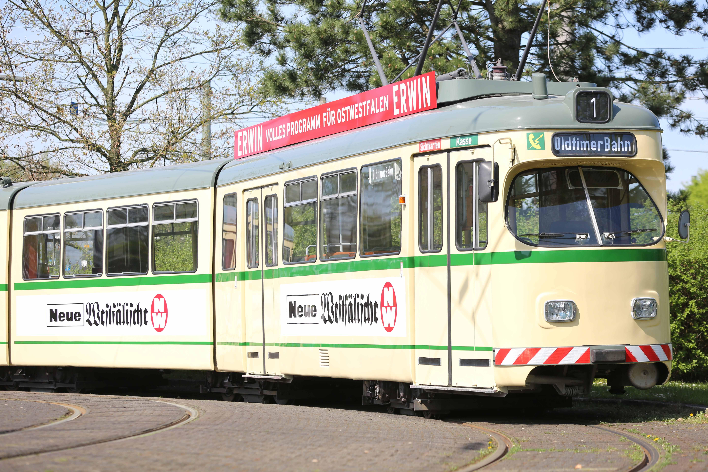 Stadtwerke Bielefeld Zeitreise Mit Der Oldtimerbahn Zwischen